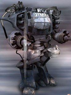 maya 机器人动画海报高清图片